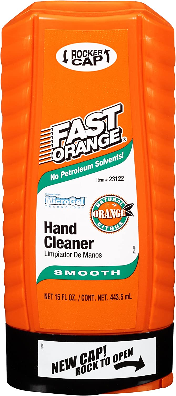 Permatex 23122 Fast Orange Smooth Lotion Hand Cleaner - 15 fl. oz.