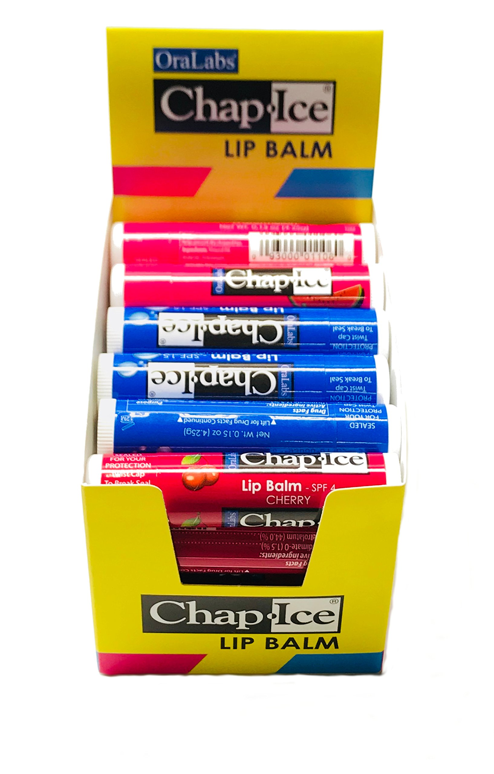 Chap Ice Assorted Lip Balm + Display Box - 24 pack by Chap-Ice (Image #2)