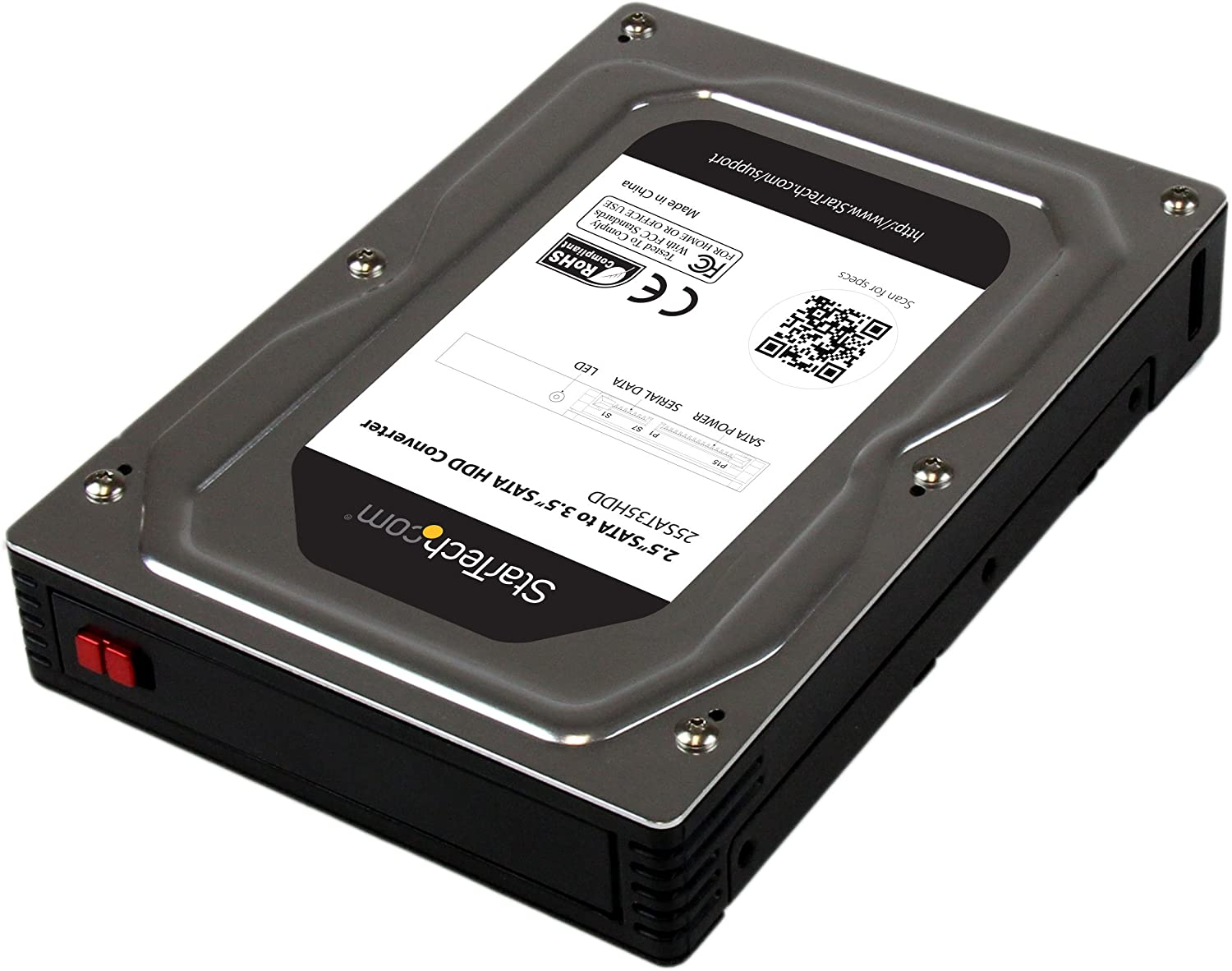 1 x SSD Hard Drive Adapter 5.25 inch to 3.5 inch 2.5 inch SSD Hard Drive Adapter Tray Drive Bay Drives and Storage Hard Drives /& Accessories