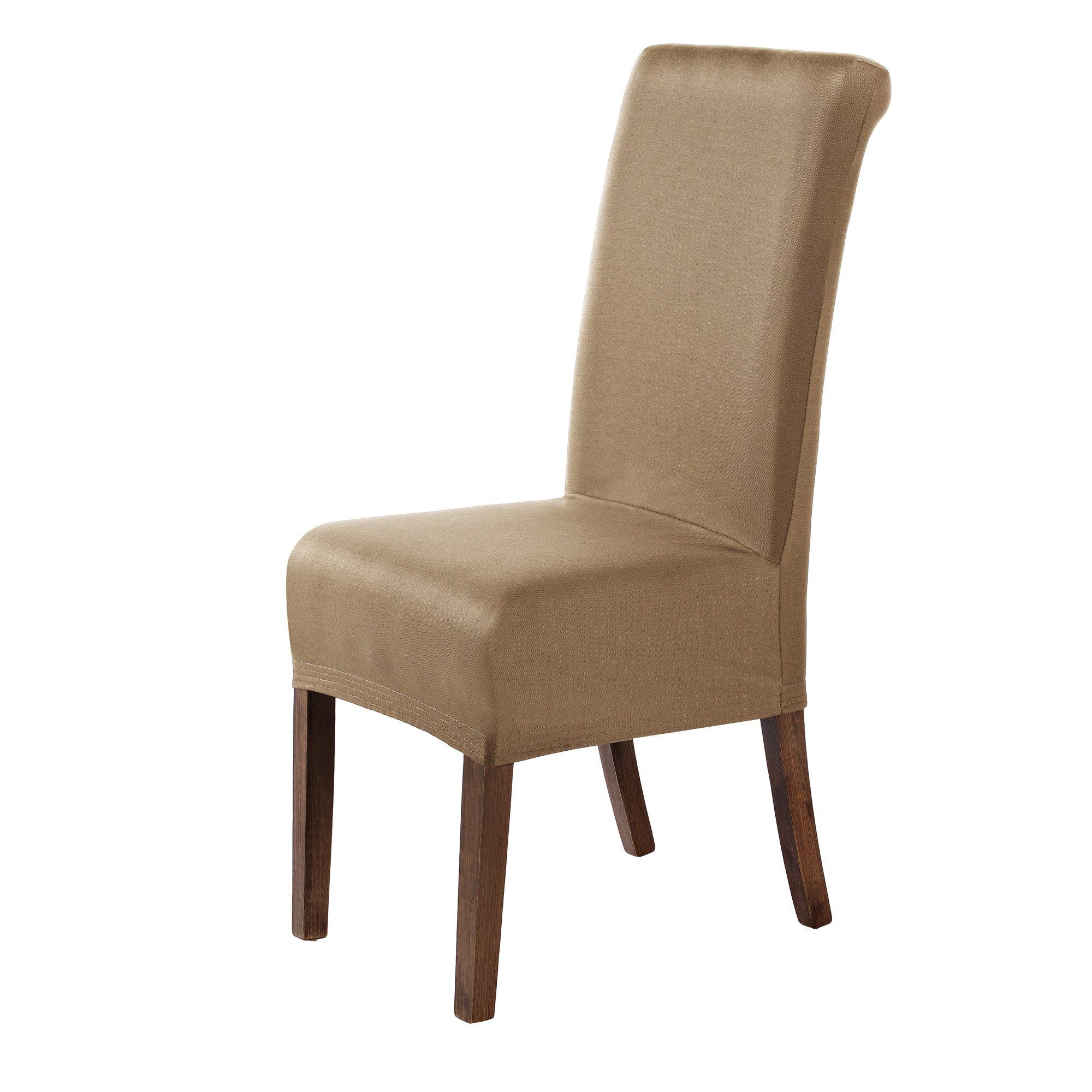 Cosyvie Set 4 Stk. Spandex Bezüge Decken Stuhl Ausziehbar Und Waschbar Für  Schutz Stuhl Esszimmer, Weiß Weiß