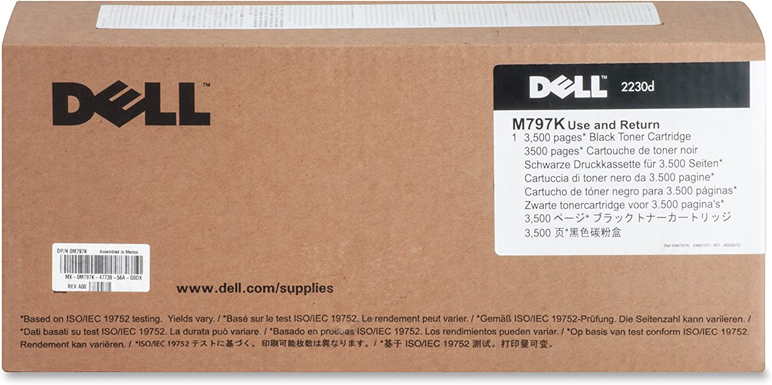 Dell Compatible 2230 Toner Cartridge (3500 Page Yield) (M797K)