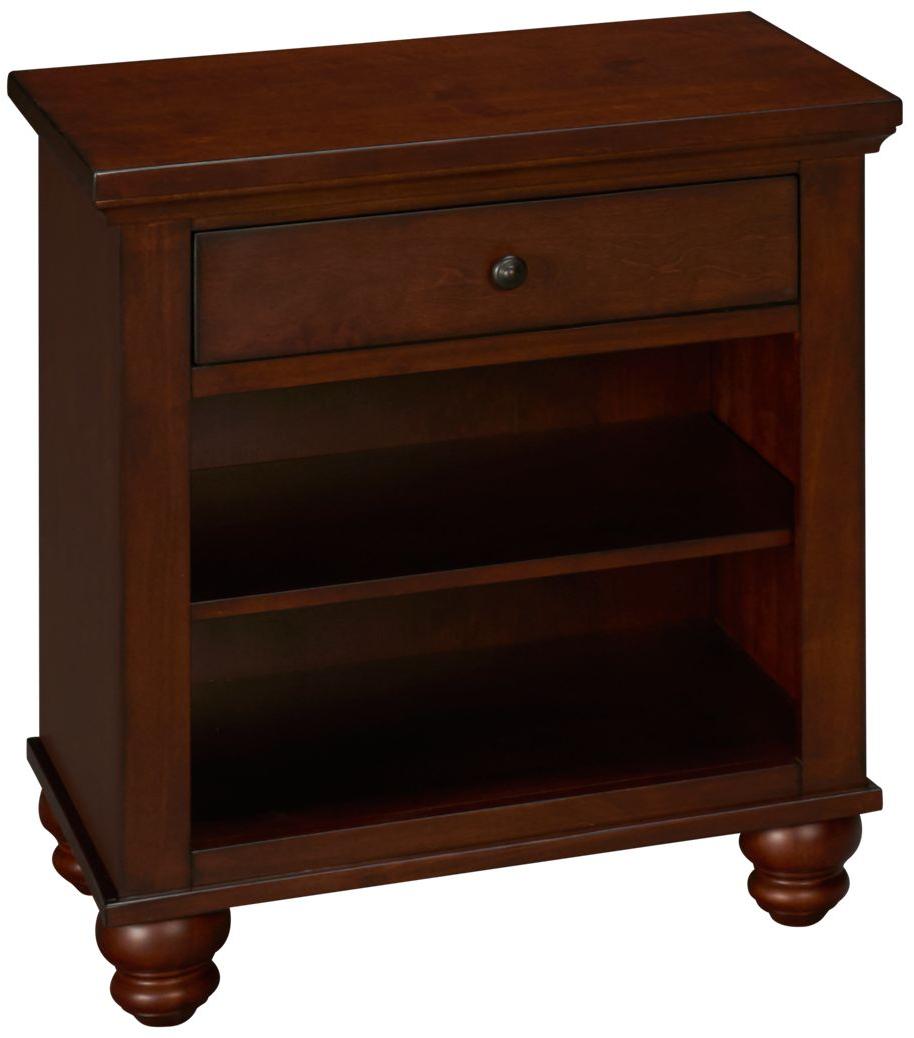 Aspen -Cambridge-Aspen Cambridge 1 Drawer Nightstand - Jordan's Furniture