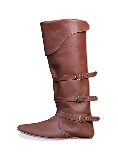 CP Schuhe Spätmittelalter Stiefel Mittelalter Schuhe