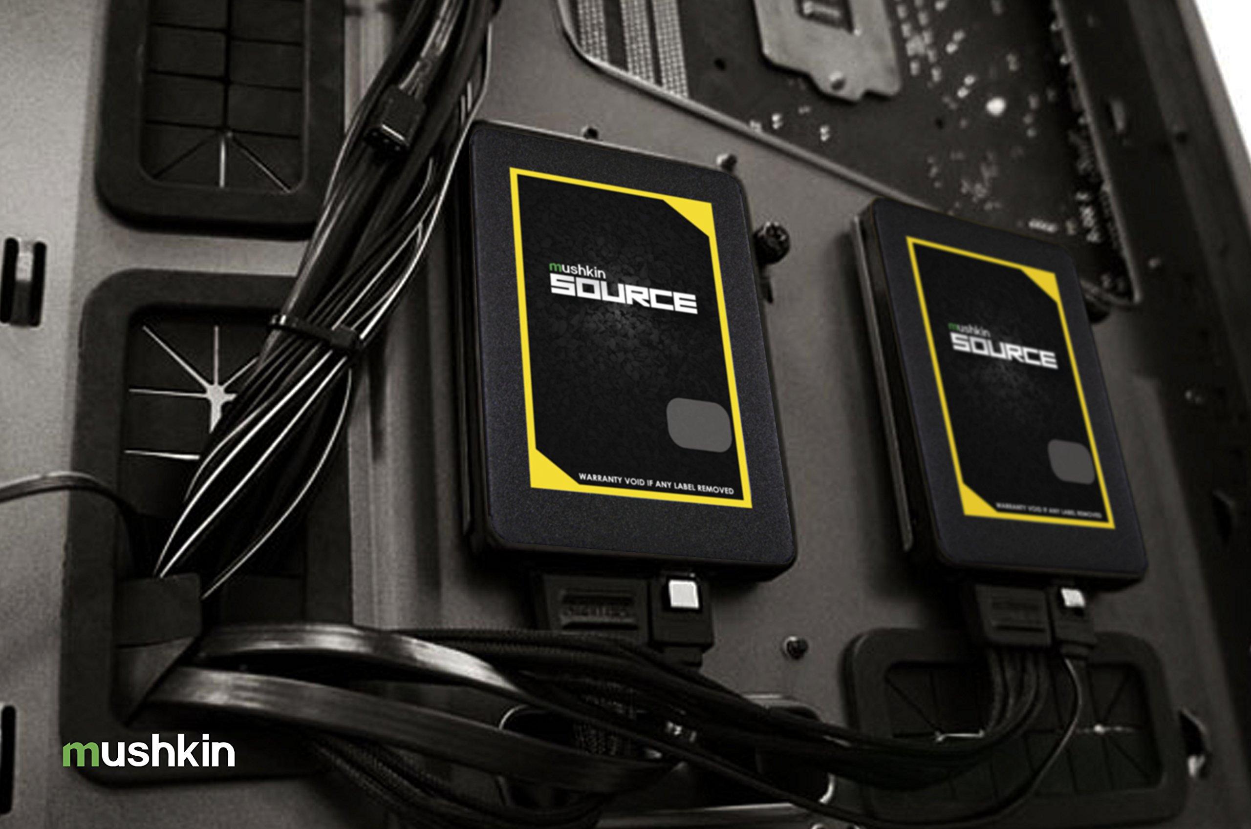 Mushkin Source - 1TB Internal Solid State Drive (SSD) - 2.5 Inch - SATA III - 6Gb/s - 3D Vertical TLC - 7mm - (MKNSSDSR1TB), Black by Mushkin (Image #6)