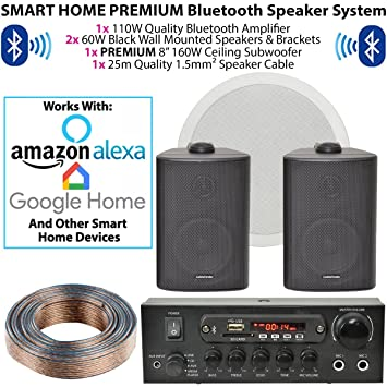 Smart Home Bluetooth-Lautsprecher &: Amazon.de: Elektronik