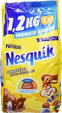 Nesquik Cacao Soluble Instantáneo 2 Paquetes De 1 2 Kg Amazon Es Alimentación Y Bebidas