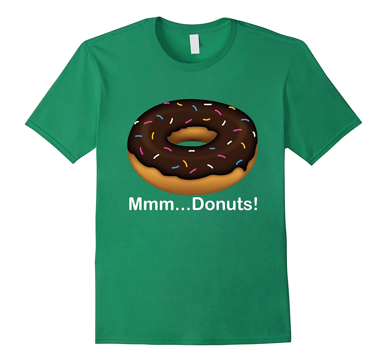 530d9ff1 Mmm… Donuts Word Puzzle T shirt Cool I Love Donut T shirt-RT ...
