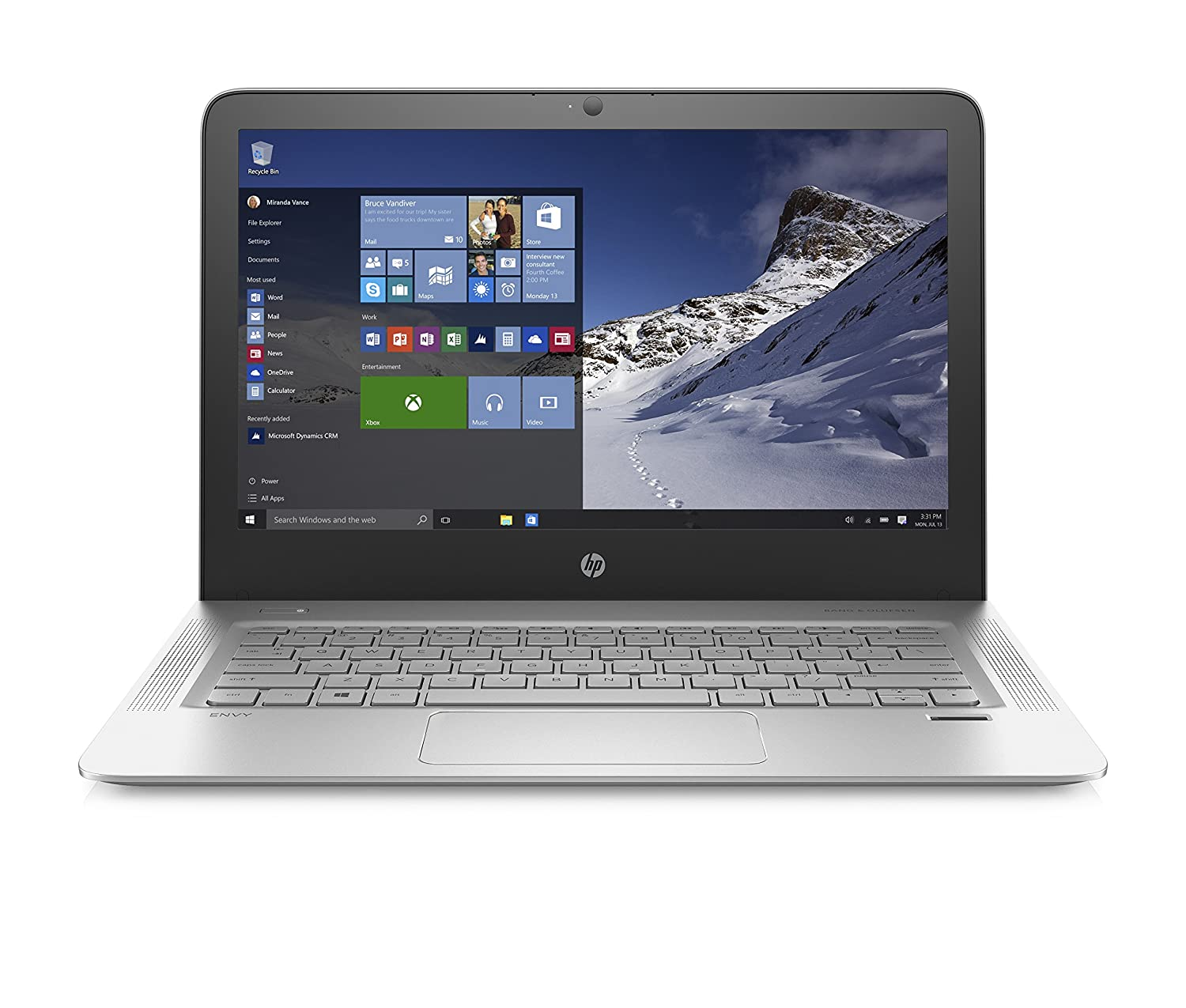 Amazon.com: HP ENVY 13-d010nr 13.3-Inch Laptop (Intel Core i5, 8 GB RAM,  128 GB SSD): Computers & Accessories