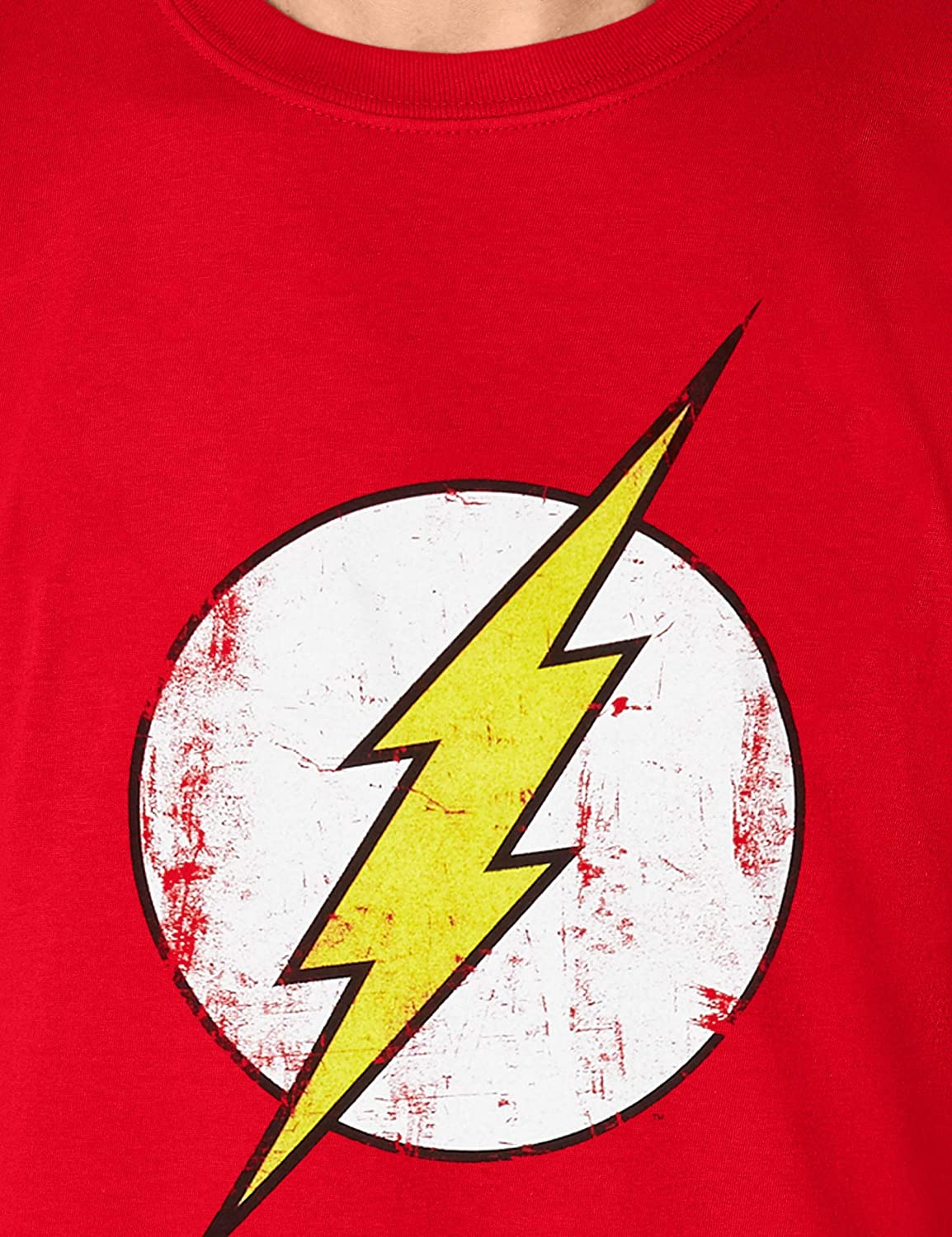 Cid The Flash Distressed Logo T-Shirt Homme