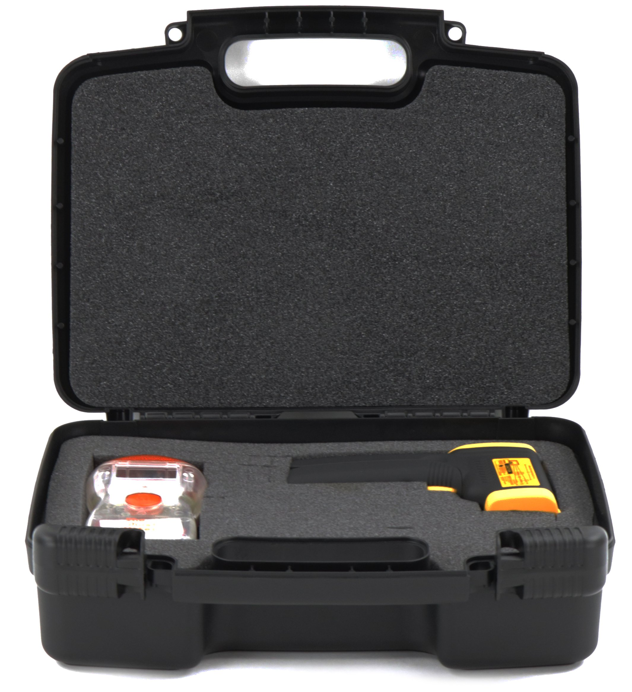 Hard Storage Carrying Case For Ghost Hunting Equipment and Fits The Ghost Meter EMF Sensor, HQMaster, Technology Alternatives, Electromagnetic Radiation Detector EMF Meter Tester and Accessories