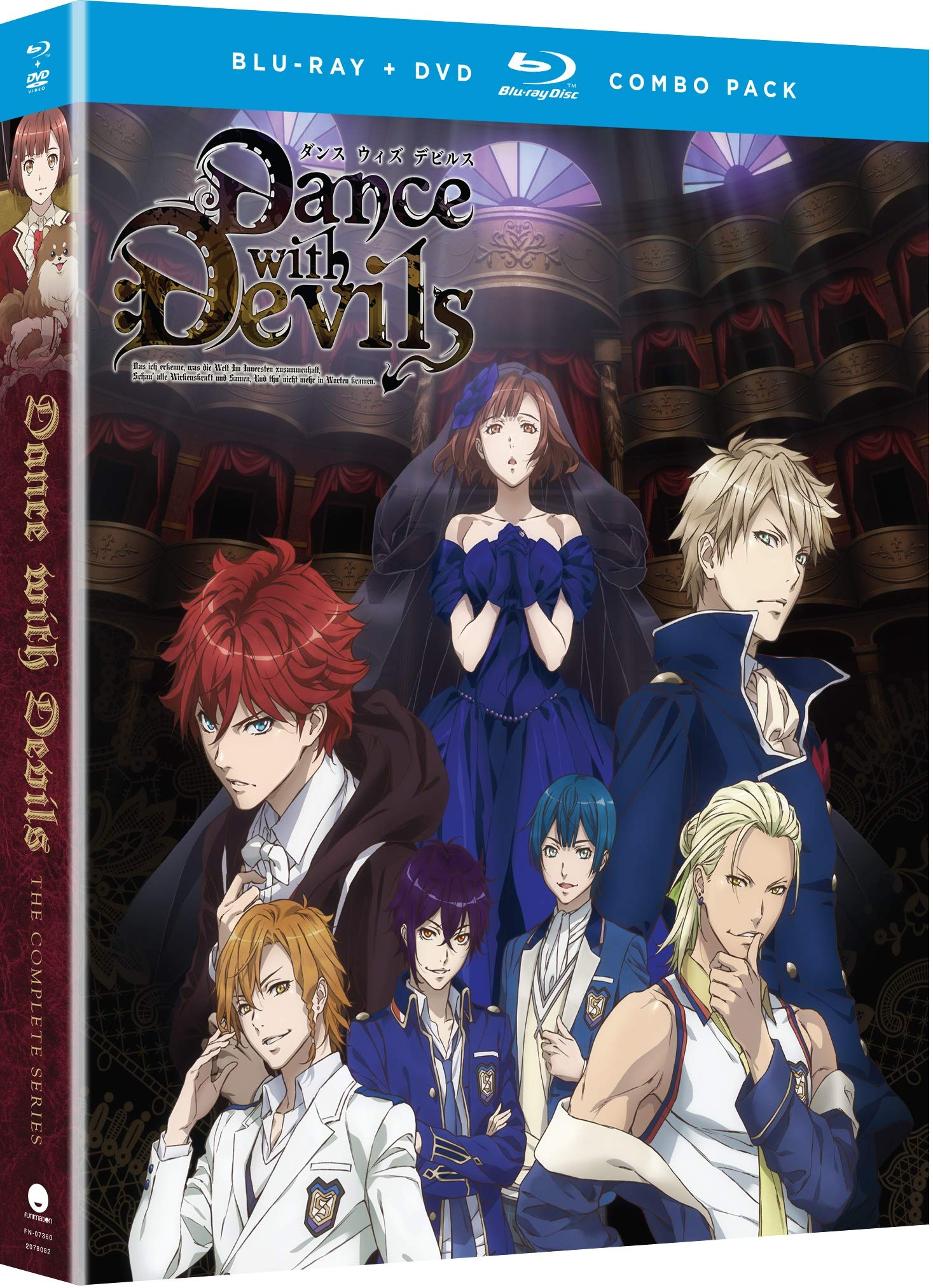 Blu-ray : Dance With Devils: The Complete Series - Essentials (With DVD, Uncut, Subtitled, Slipsleeve Packaging, Snap Case)