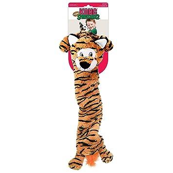 9eacfbd0f KONG Stretchezz Jumbo Tiger Dog Toy