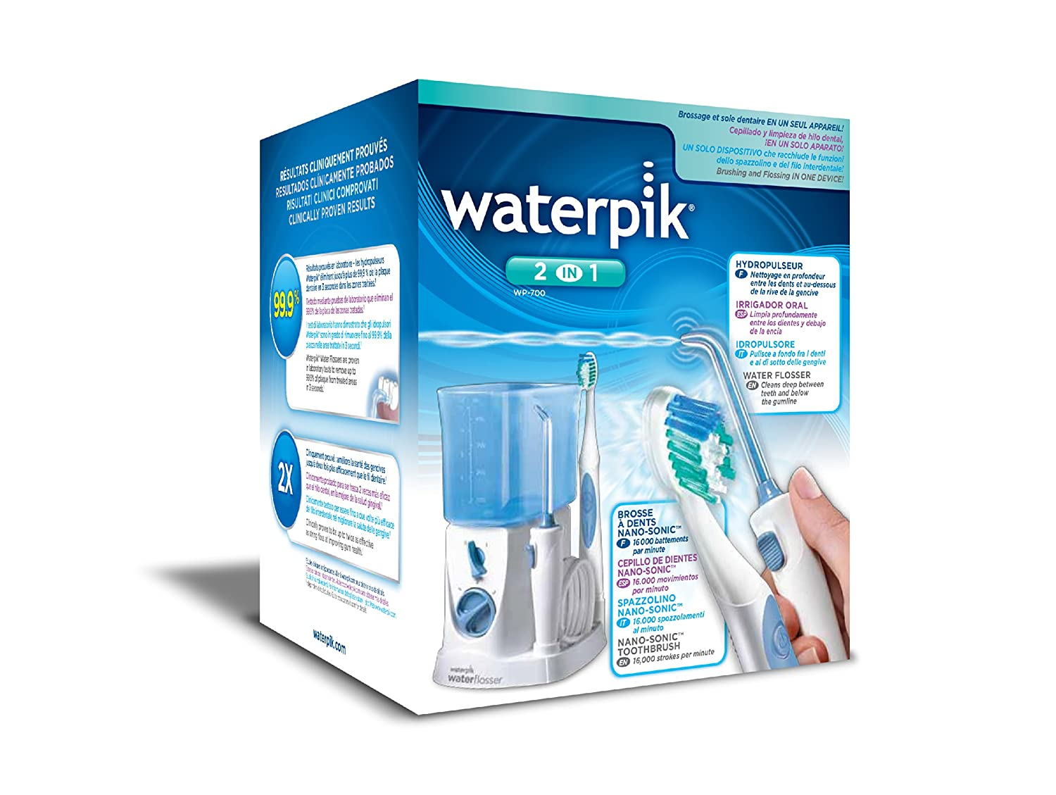 Amazon.com: Waterpik Waterflosser + Sonic Toothbrush: Health & Personal Care