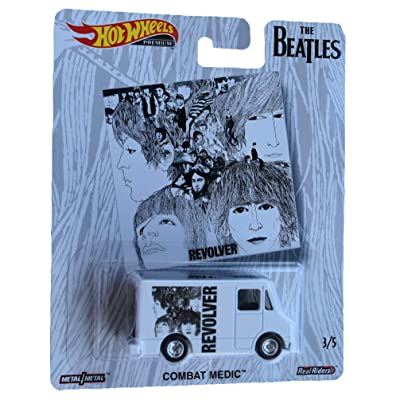Hot Wheels The Beatles Series Combat Medic 3/5, White: Toys & Games