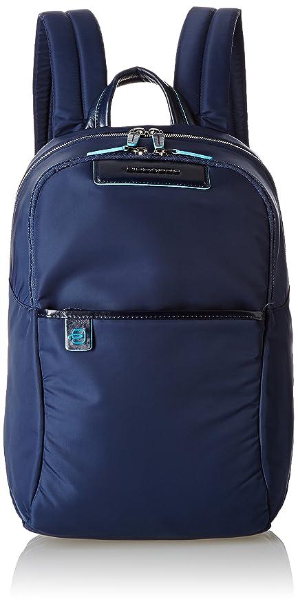a basso costo 3945c 3f604 Piquadro Celion Zaino, Unisex adulto, Blu, 15x39x27cm