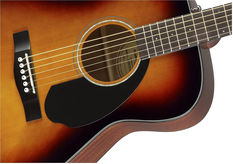 Fender CC-60S Sunburst Guitarra Acústica: Amazon.es: Instrumentos musicales