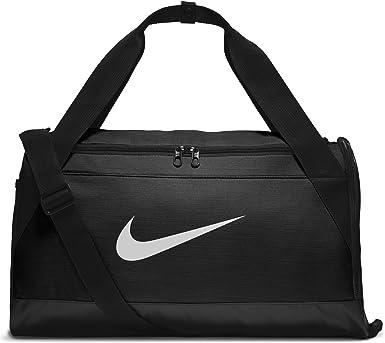 Amazon.com: NIKE Brasilia Training Duffel Bag, Black/Black/White, Small: Nike: Clothing
