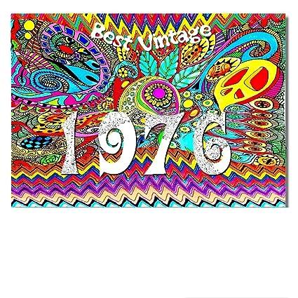 DigitalOase 1976 Best Vintage Tarjeta de 42. cumpleaños 42 ...