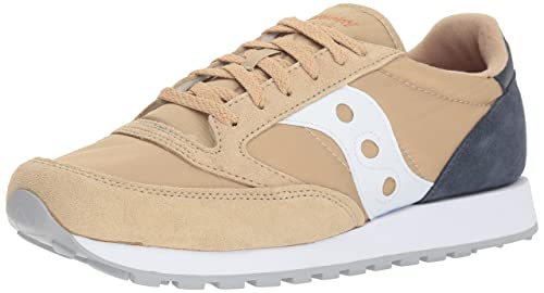 1117cf1bf3 Saucony Jazz Uomo Scarpe Beige Blu Navy New (44 EU): Amazon.it ...