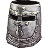 Design Toscano Knight's Templar Helmet Desk Accessory in Two-Tone