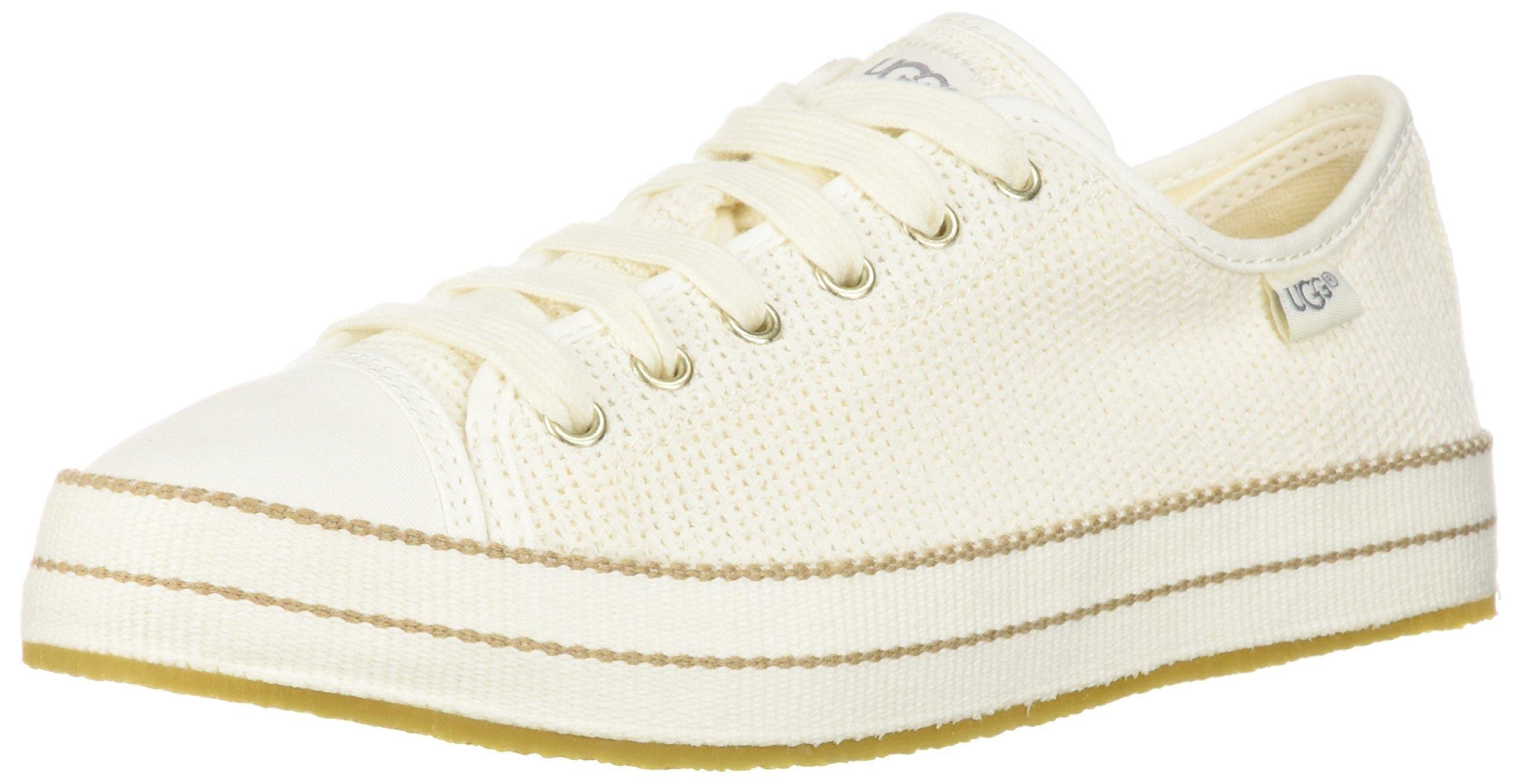 UGG Women's Claudi Sneaker, Natural, 6 M US