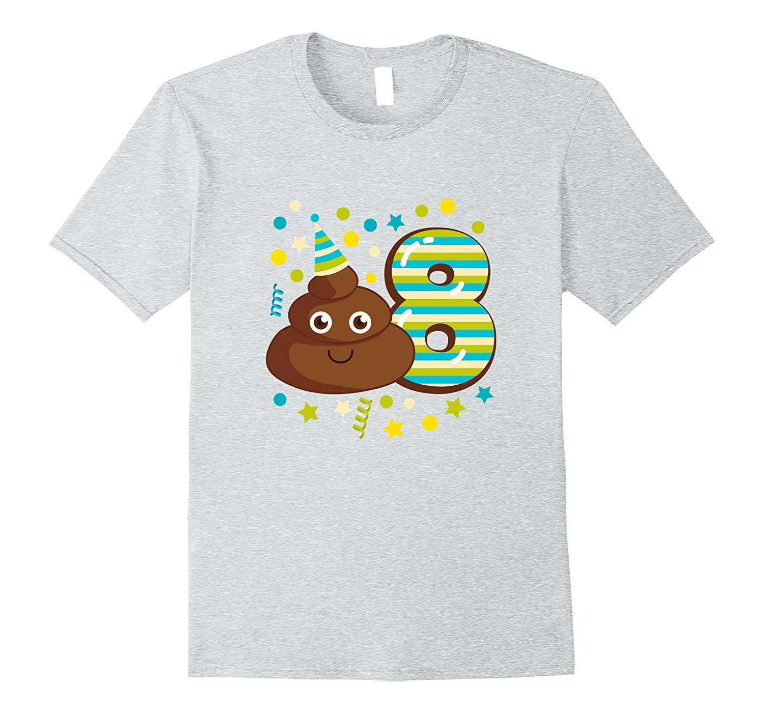 Kids Birthday Parties 8 Year Old Party Shirt Girl Or Boy PL