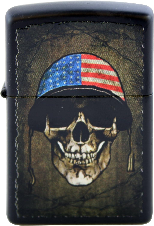 SKULL AMERICAN PIN  NEW