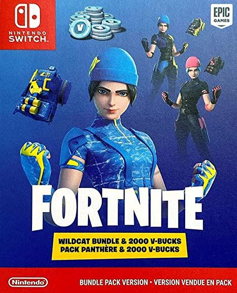 Amazon Com Nintendo Switch Console Fort Nite Wildcat 2020 Holiday Special Edition 32gb Unique Switch Console Wildcat Outfits 2000 V Bucks Us Ac Adapter Mytrix 128gb Microsd Card And Adapter Computers Accessories A new fortnite bundle is coming to nintendo switch called the wildcat pack. nintendo switch console fort nite wildcat 2020 holiday special edition 32gb unique switch console wildcat outfits 2000 v bucks us ac adapter