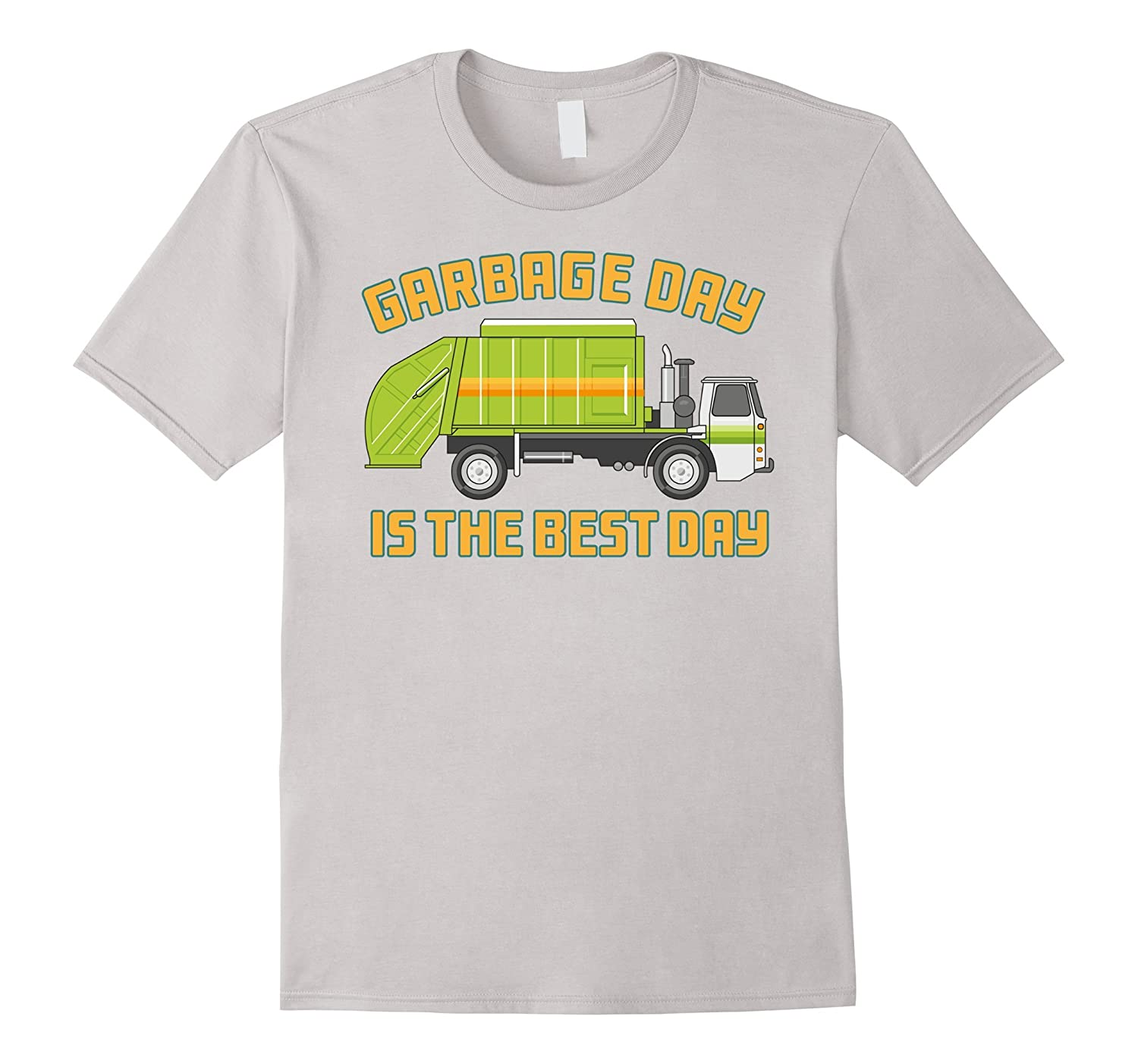 Garbage Day is The Best Day Truck Kids T-Shirt-CD