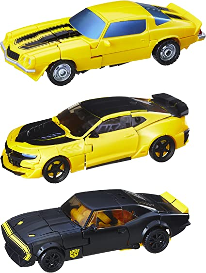 Amazon.com: Transformers Bumblebee Evolution 3-Pack (Amazon Exclusive):  Toys & Games