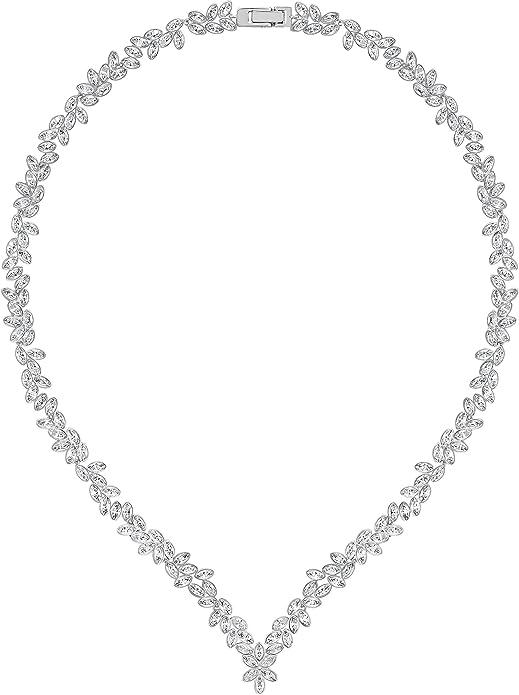suelo Peladura objetivo  Amazon.com: Swarovski Diapason All-Around V collar – 5184273: Jewelry