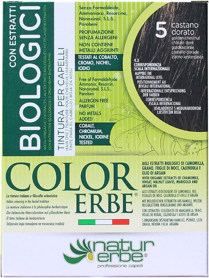 Color Erbe, Coloración permanente - 135 ml.: Amazon.es: Belleza
