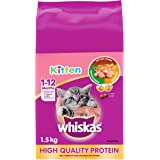 Whiskas Dry Food for Cats - Kitten - 1.5 kg