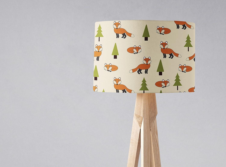 Amazon Com Woodland Foxes Lampshade Light Shade Handmade
