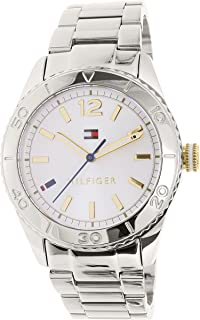 Tommy Hilfiger 1781566 Womens Ritz Silver Dial Steel Watch