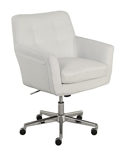 A Serta Ashland Home Office Chair Ivory