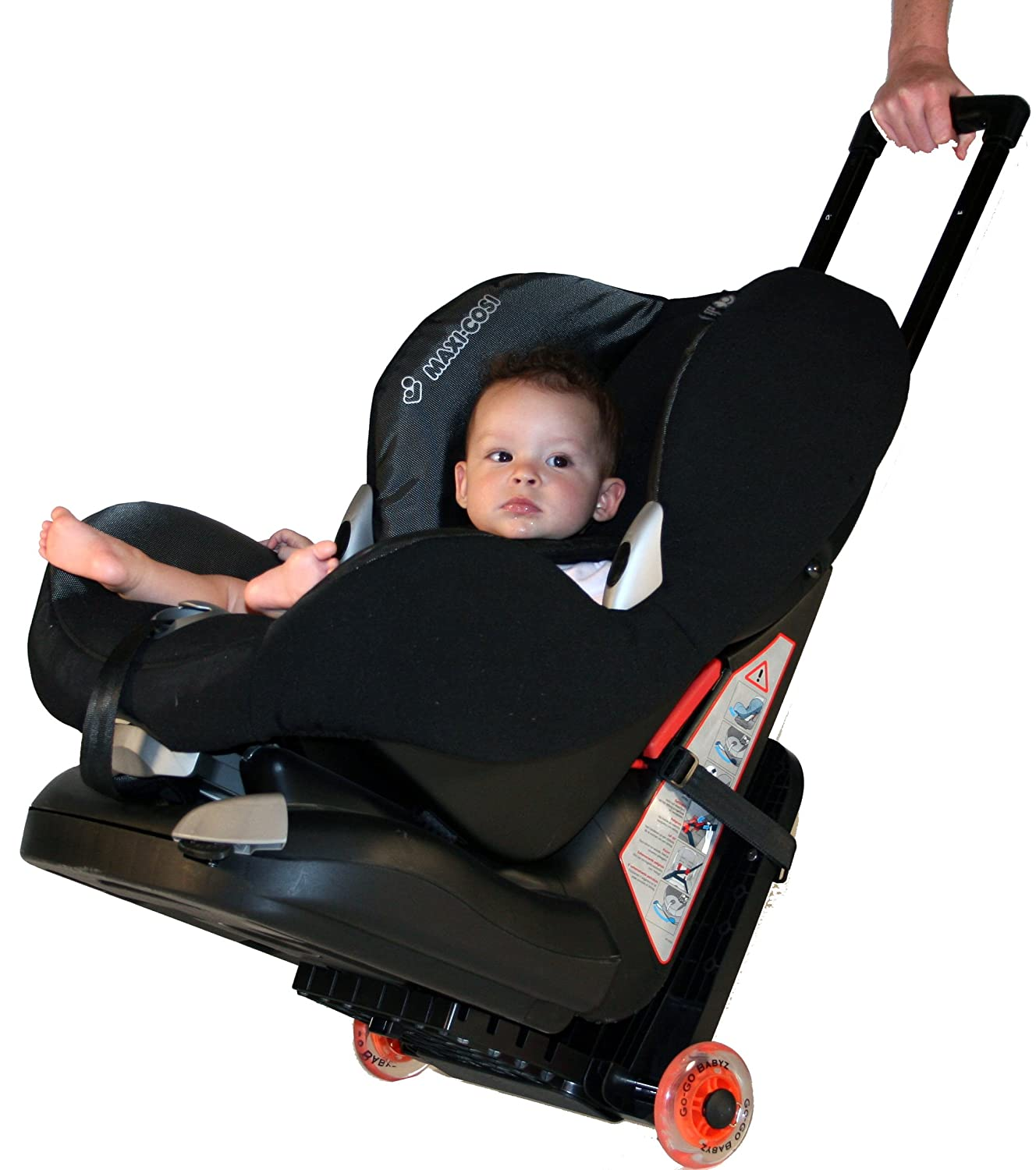 Amazon.com : GO-GO BABYZ TRAVELMATE Car Seat Travel Stroller for ...