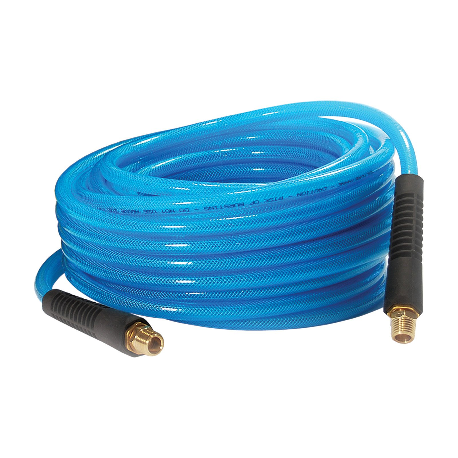 Primefit PU140502-B Reinforced Premium Polyurethane Air Hose with Field Repairable Ends, 1/4'' by 50', 200 psi