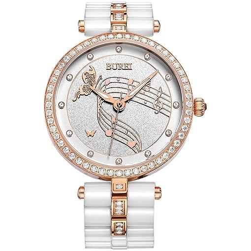 Bracelet de montre en ceramique blanc