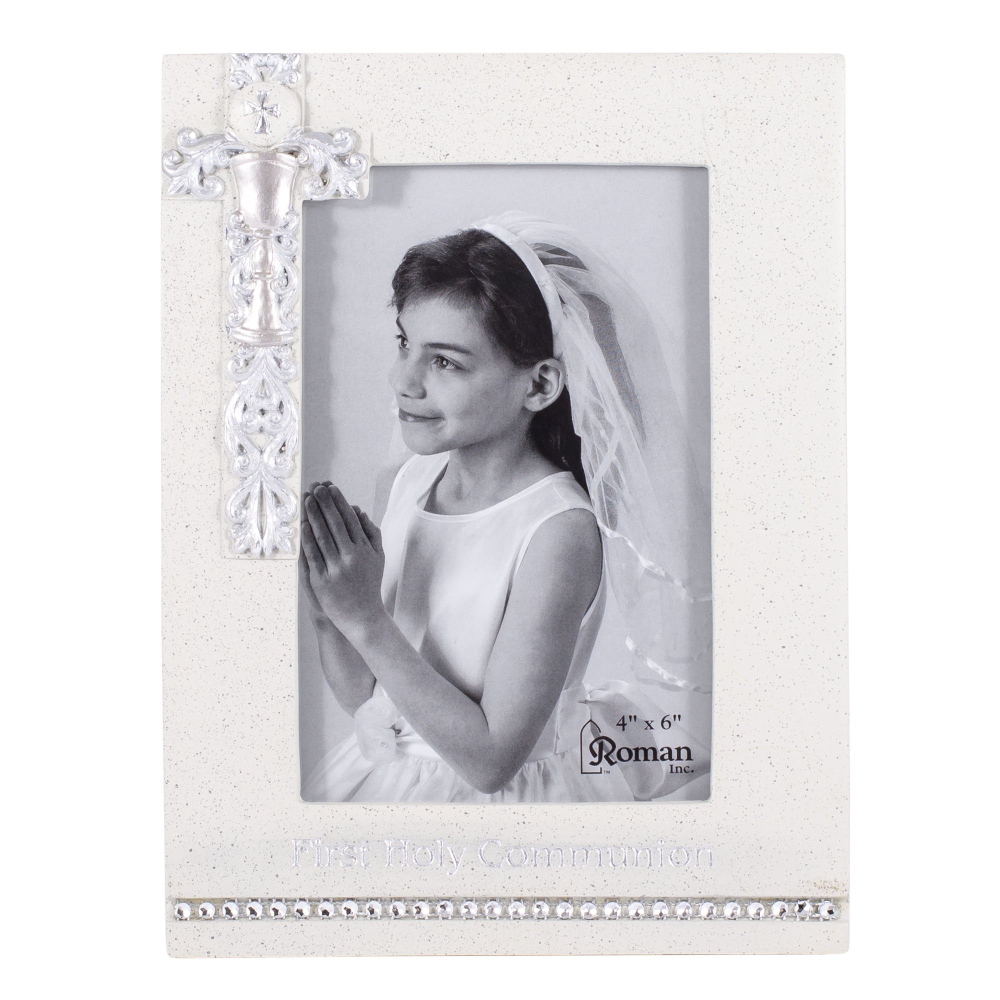Amazon.com : Roman Inc. First Communion Frame 4x6 * Confirmation ...