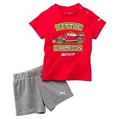 Puma Ferrari Baby Set Madchen Jungen Kurzarm T Shirt Shorts 74