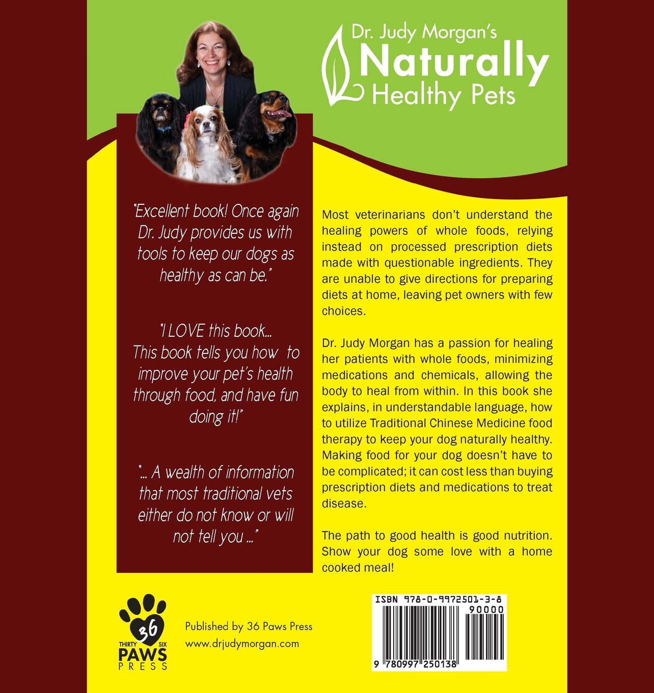 Yin & Yang Nutrition for Dogs: Maximizing Health with Whole Foods