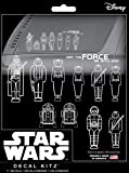 Chroma 45020 Star Wars Family Decal Kit, 11 Piece