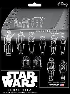 Amazoncom Star Wars Family Car Decal Automotive Vinyl Sticker - Star wars family car decals