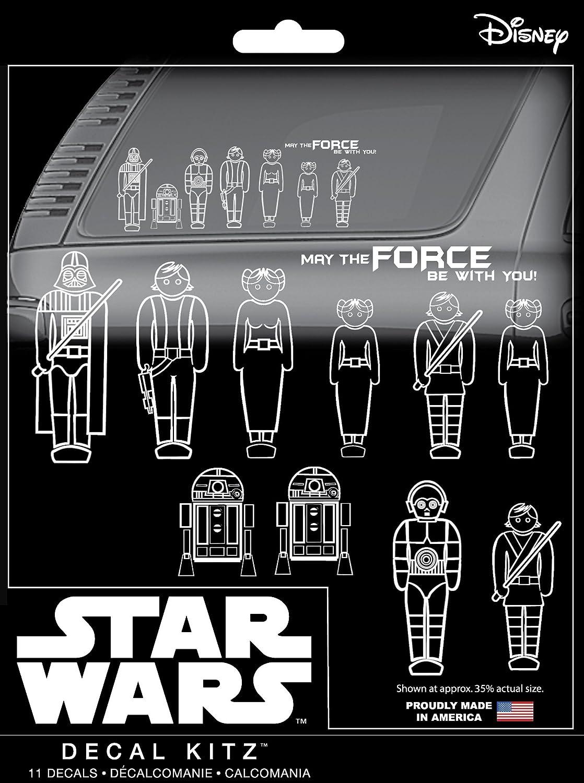 Chroma 45020 Star Wars Family Decal Kit, 11 Piece