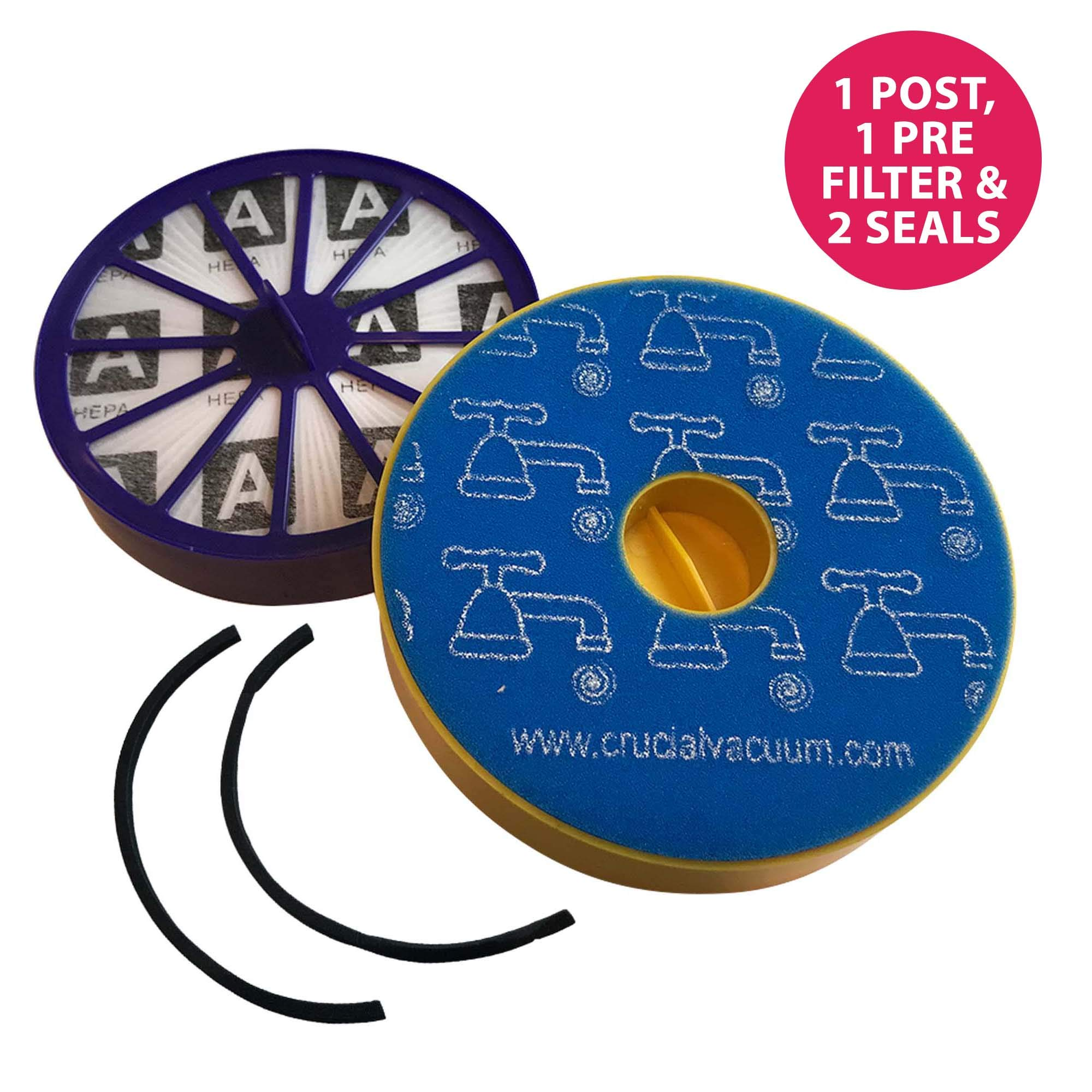Think Crucial Replacement for Dyson DC14 DC-14 Filter & Seal Kit, Compatible With Part # 90142-02, 921623-01, 901420-01, 904979-02 & 905401-01