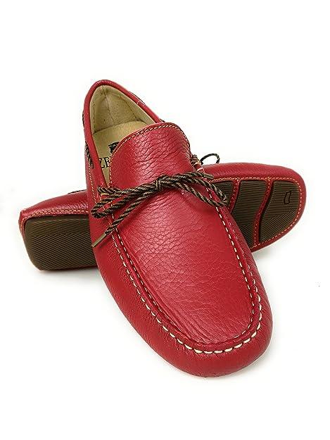 Zerimar Náuticos de Piel para Hombre | Náuticos Hombre Verano | Zapatos Náuticos Hombre | Mocasines Hombre: Amazon.es: Zapatos y complementos