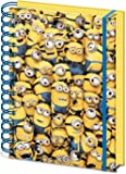 """Despicable Me A5 SR71862 """"Many Minions"""" 3D Cover Notebook"""