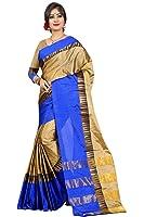 Traditional Ethnic Tassar Silk Banarasi Sarees With Unstitched Blouse Design