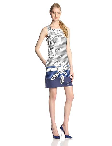 5e85a71b02482 Desigual Esther - Vestido sin Mangas para Mujer